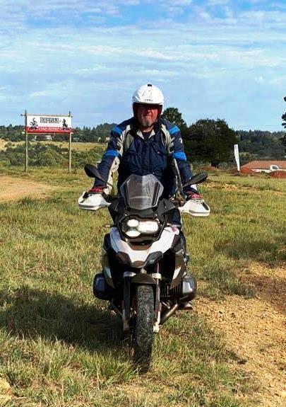 Certified adventure bike instructor