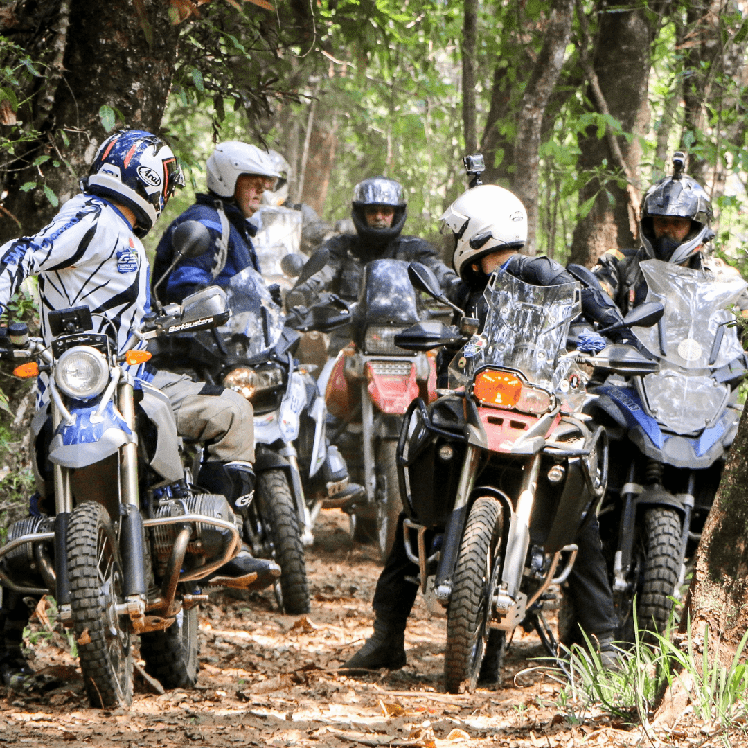Adventure Riding Training course assembly